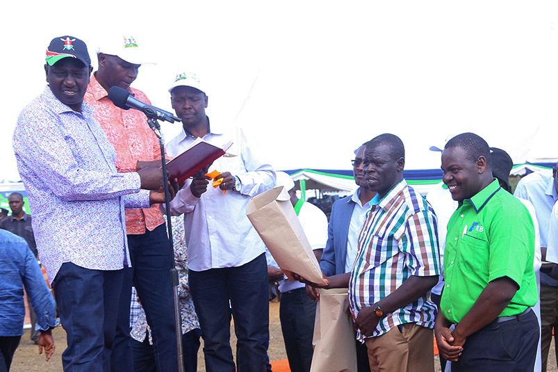 KCB Foundation Supports 2017 Baringo Annual Kimalel Goat Auction