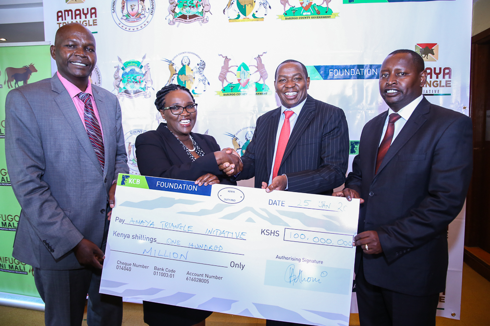 KCB Foundation Partners With Four Counties in Key Kshs 200 Million Livestock Project