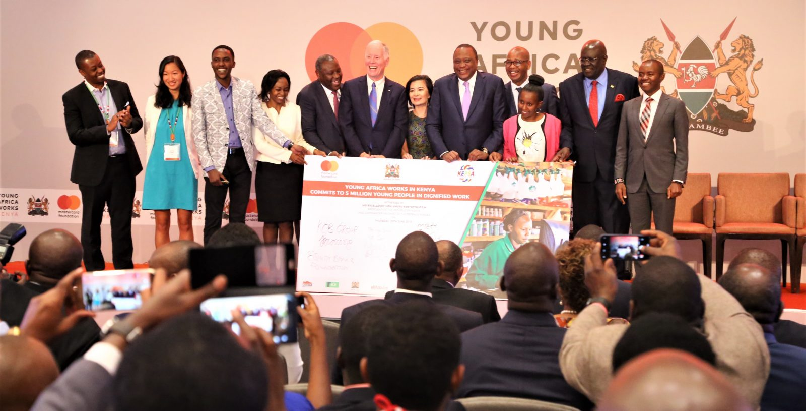KCB Foundation Secures KES 10 Billion Funding From MasterCard Foundation for Scaling Up 2jiajiri